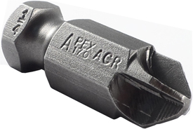 Apex® 7/16'' Torq-Set Hex Power Drive Bits With ACR