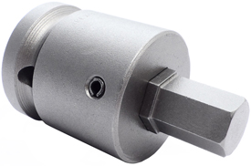 Apex® 3/4'' Socket Head (Hex-Allen) Bits With Square Drive Adapters, Metric