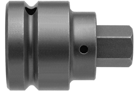 Apex® 1'' Socket Head (Hex-Allen) Bits With Square Drive Adapters, SAE