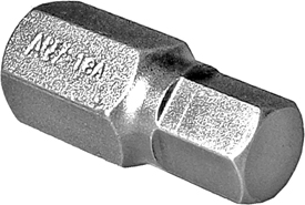 Apex® 3/8'' Socket Head (Hex-Allen) Bits With Square Drive Adapters, SAE