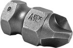 Apex 5/8 Tri-Wing Hex Power Drive Bits