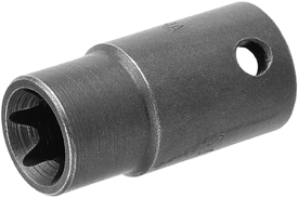 3/8'' Square Drive Torx Sockets, For External Torx Screws, Thin Wall