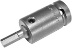 Apex 1/2'' Square Drive, SAE, Socket Head Bits, Complete, Adapter Only, Insert Only