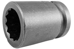 Apex 1/2'' Square Drive Sockets, SAE, Standard Length