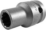 Apex 1/2'' Square Drive Sockets, SAE, Thin Wall, Standard Length