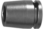 Apex 1'' Square Drive Sockets, Metric, Long Length
