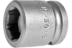 Apex 3/8 Square Drive Sockets, SAE, Magnetic, Short And Standard Length