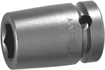 Apex 5/8 Square Drive Sockets, Metric, Surface Drive, Standard Length