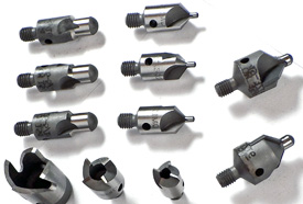 Piloted Aircraft Stop Countersink Cutters