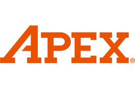 315-10MM-BH-3 Apex 5/16'' Hex Insert Ball End Hex Bit