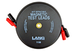 1138 Lang Magnetic Retractable Test Leads - 2 Leads X 30 feet