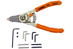 1421 Lang Quick Switch Pliers With Adjustable Stop And Tip Kit