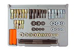 971 Lang SAE and Metric Thread Restorer 48 Piece Kit