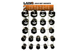 1291 Lang 22 Piece Axle Nut Display