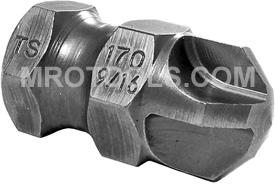 TS170-9/16 Zephyr 5/8'' Torq-Set #9/16'' Hex Shank Power Drive Bits