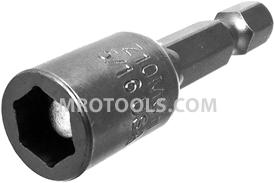 Z10MSH-5/16 Zephyr Magnetic Nutsetter, 1/4'' Male Hex Power Shank