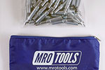 K2S100-3/32 Set of 100 3/32 Standard Plier Operated Cleco Fasteners w/ Polyester Carry Bag