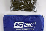 K2S50-5/32 Set of 50 5/32 Standard Plier Operated Cleco Fasteners w/ Polyester Carry Bag