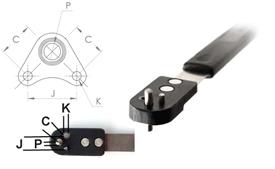 NPJ518SA Corner Wing Miniature Nut Plate Jig (CWM)