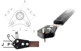 NPJ518MB Corner Wing Standard Nut Plate Jig (CWS)