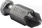 Apex 7/16 Torq-Set Hex Power Drive Bits With ACR