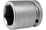 Apex 1/2'' Square Drive Sockets, Metric, Standard Length, 6 Point and Double Hex