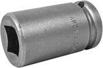 Apex 3/8 Square Drive Sockets, SAE, For Square Nuts (Single Square, Double Square)