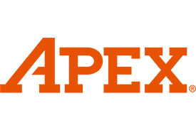 APEX AM-6MM-BH-165M Ball End Hex Bit, 1/4'' Hex