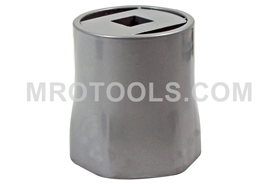 1204 Lang 2 9/16'' Axle Nut Socket, 6 Point