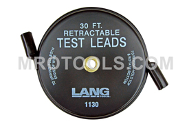 1130 Kastar Retractable Test Leads - 1 Lead X 30 feet