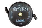 1130 Lang Retractable Test Leads - 1 Lead X 30 feet