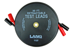 1137 Lang Retractable Test Leads - 2 Leads X 30 Feet