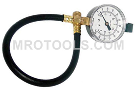 74442 Kastar 2 1/2'' (60 Psi) Gauge and Hose