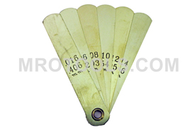 2300A Lang Tune Up Gauge 6 Non Magnetic Brass Blades