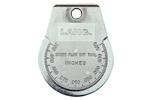 712A Kastar Ramp Gauge Large Chrome