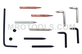 12 Lang Retaining Ring Pliers Tip Kits
