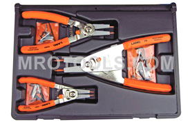 1465 Kastar Quick Switch Retaining Ring Pliers 3 Piece Set