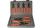 3597 Lang 6 Piece Quick Switch Internal/External Retaining Ring Pliers Set