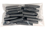 S445-2-15X-25PK 25 Piece 1/4'' Slotted Insert Bit Pack