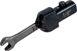 OP 42 Utica Torque Wrench Open End Interchangeable Head ''A'' Size - SAE