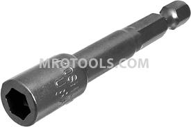 Z10MSHL-1/4 Zephyr Magnetic Nut-Setter, 1/4'' Male Power Shank