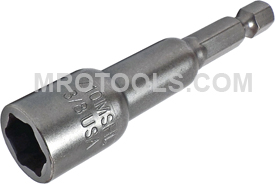 Z10MSHL-3/8 Zephyr Magnetic Nut-Setter, 1/4'' Male Power Shank