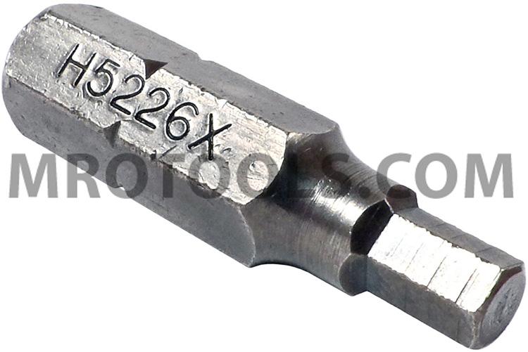 Zephyr H5226x 964 Socket Head Hex Allen Insert Bit For Self