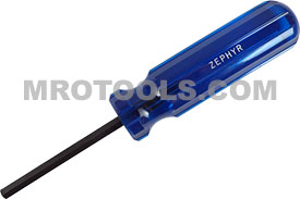 H107MA Zephyr Magnetic Hand Driver, Plastic Handle, Aluminum Shank
