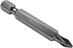 ZEPHYR E1541XXACR-B #1 Phillips Power Drive Bit, ACR, Full Hex Shank, For Machine Screws, 1/4'' Hex Shank