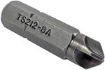 ZEPHYR TS212-8A #8 Torq-Set Insert Bit, 5/16'' Hex Shank