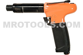 Cleco Pneumatic Pistol Grip Screwdriver 19 Series 19TCA07Q, 15-60in.-lbs Torque Range