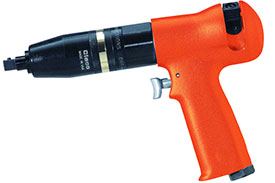 Cleco Pneumatic Pistol Grip Screwdriver 88 Series 88RSATP-7C-3, 3/8'' Square Drive