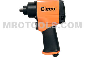 Cleco Pistol Grip Impact Wrench CWM Metal Housing Series CWM-375P, Pin Anvil