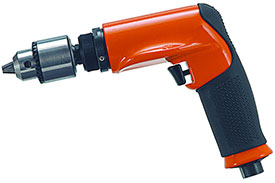 DOTCO Pistol Grip Pneumatic Drill 14CS Non-Reversible 14CSL97-40, 3/8''-24 External Thread